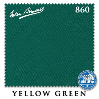 Сукно Iwan Simonis 860 198см Yellow Green 60М