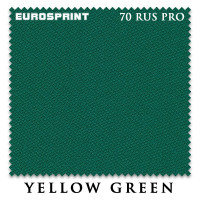 Сукно Eurosprint 70 Rus Pro 198см Yellow Green 60М